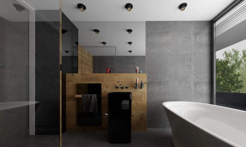 Kúpelňa- drevo