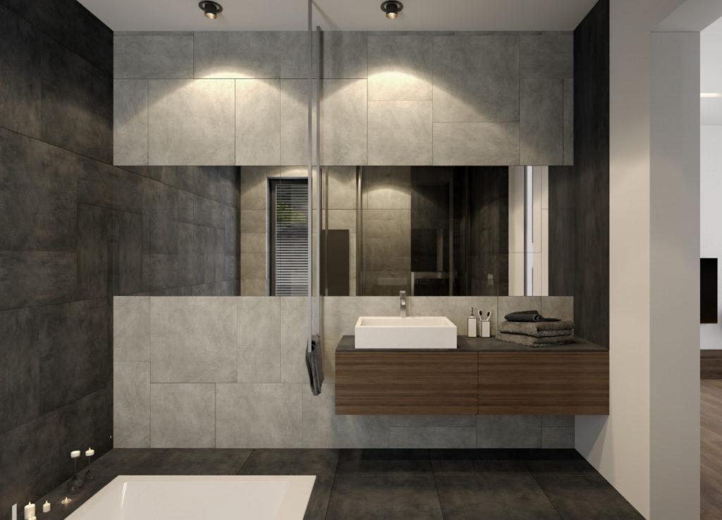 Kúpelňa rodičov- zavesený držiak na uterák