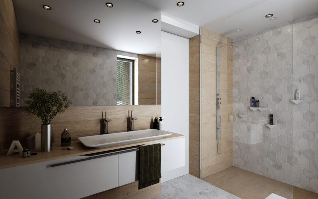 Kúpeľňa- neutrálna a teplá