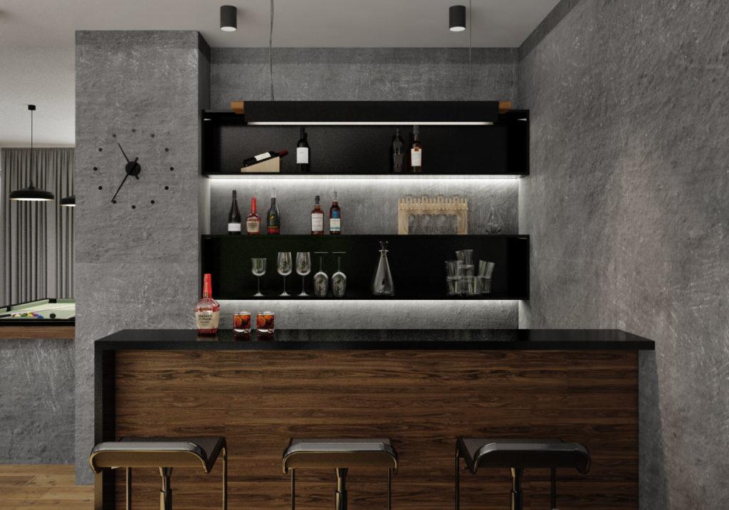 Hobby miestnosť- bar