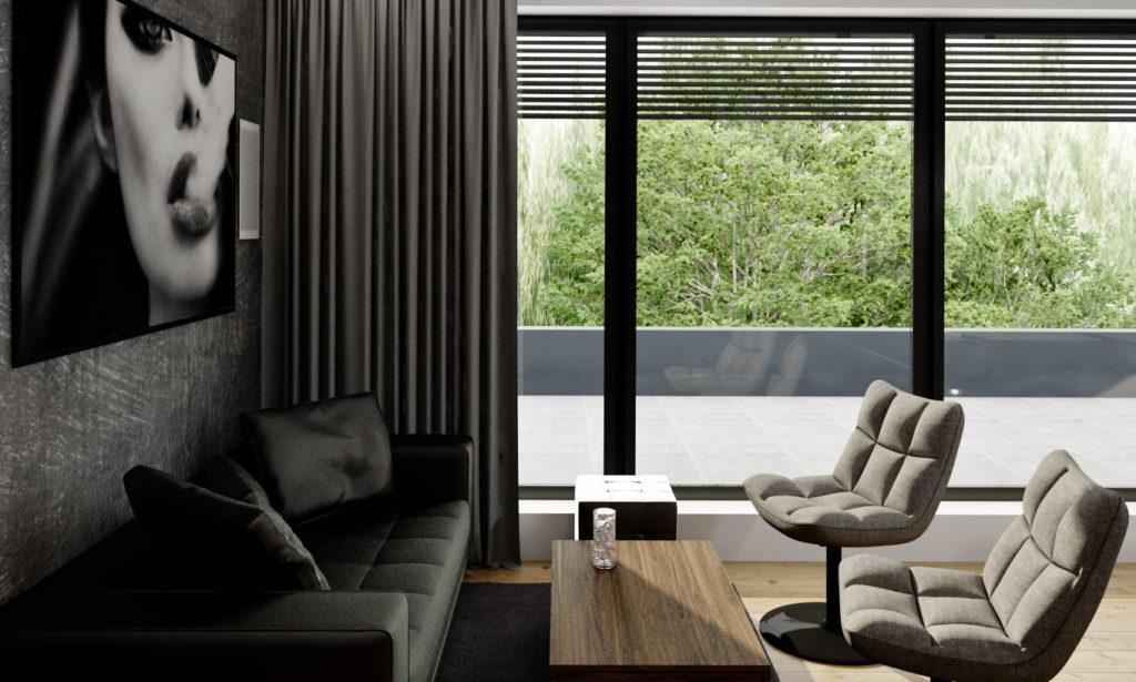 Hobby miestnosť- lounge sedenie