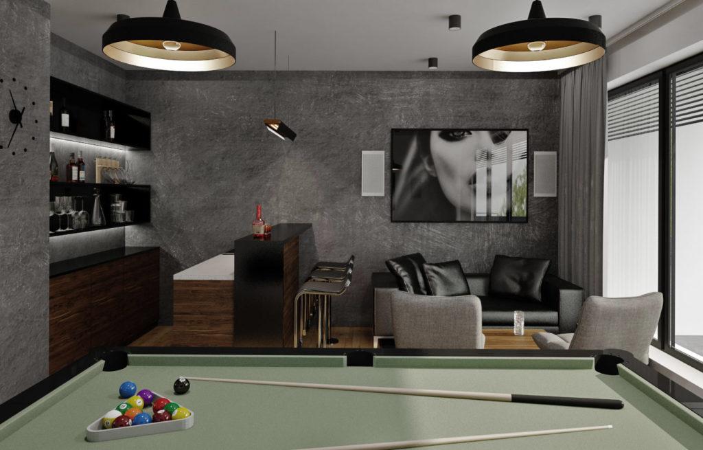 Hobby miestnosť - celkový pohľad