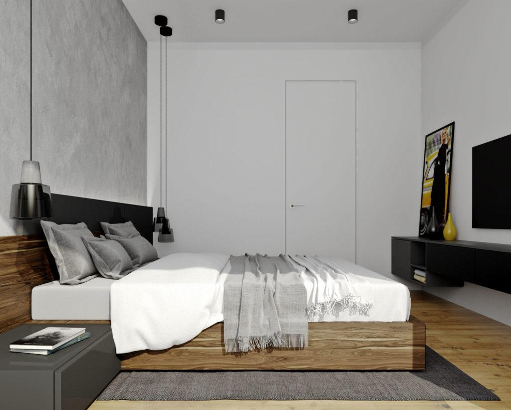 Hosťovská izba- moderná a jednoduchá