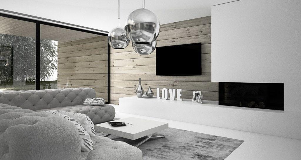 príjemná obývačka