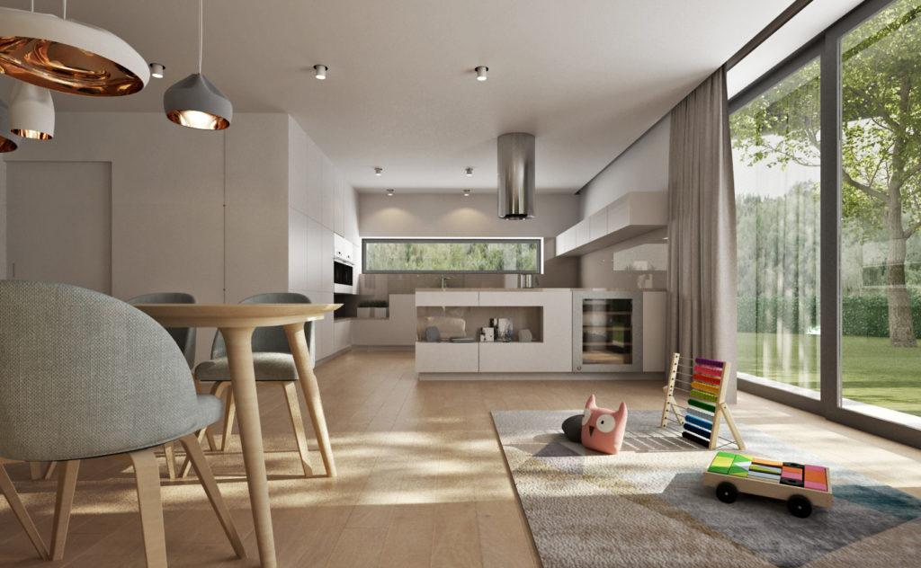 Kuchyňa- hrací koberec pre deti