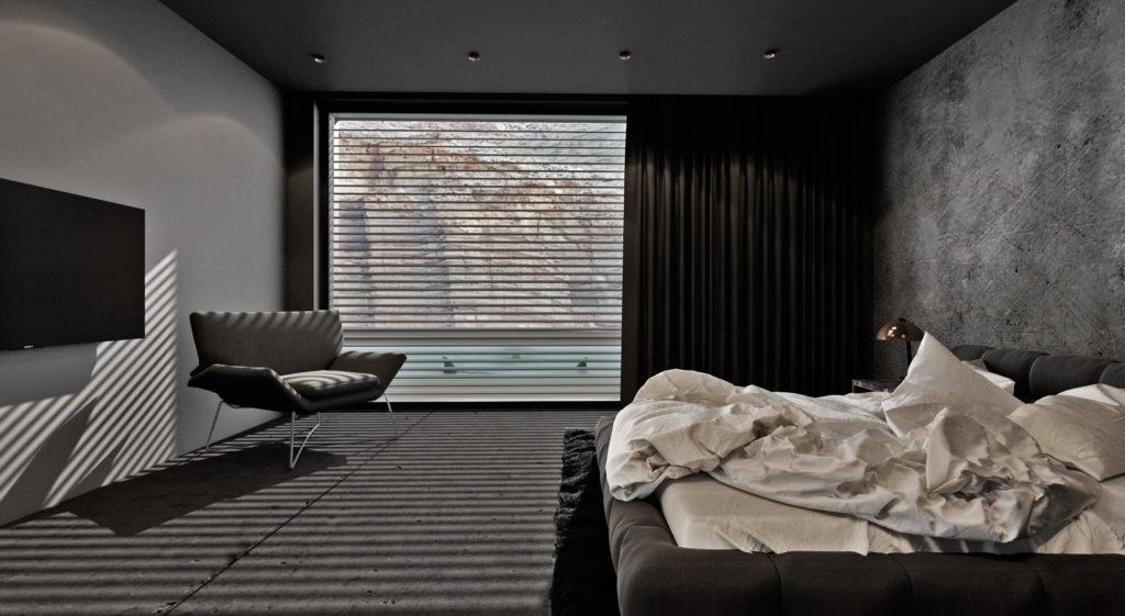 Spálňa- čistá, mdoerná, elegantná