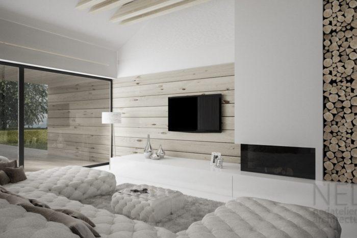 moderný interiér domu