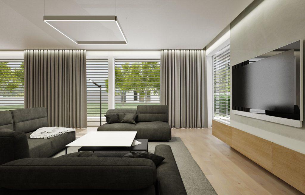Pohodlné polohovateľné sedenie v obývačke