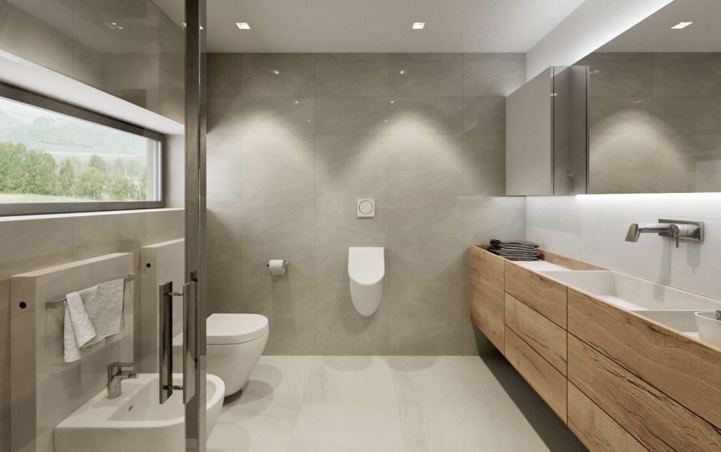 Pisoár v domácej kúpelni