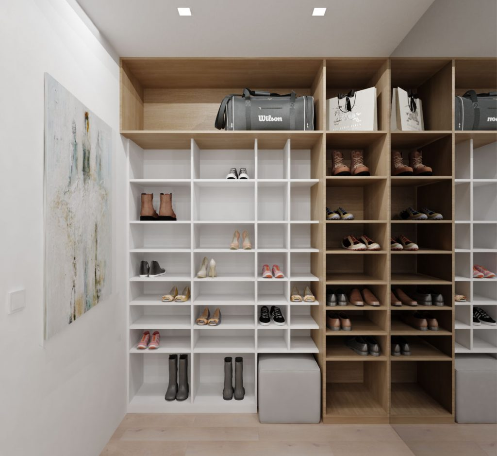 Návrh botníka v rodinnom dome