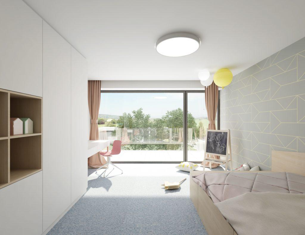 Presvetlená detská izba