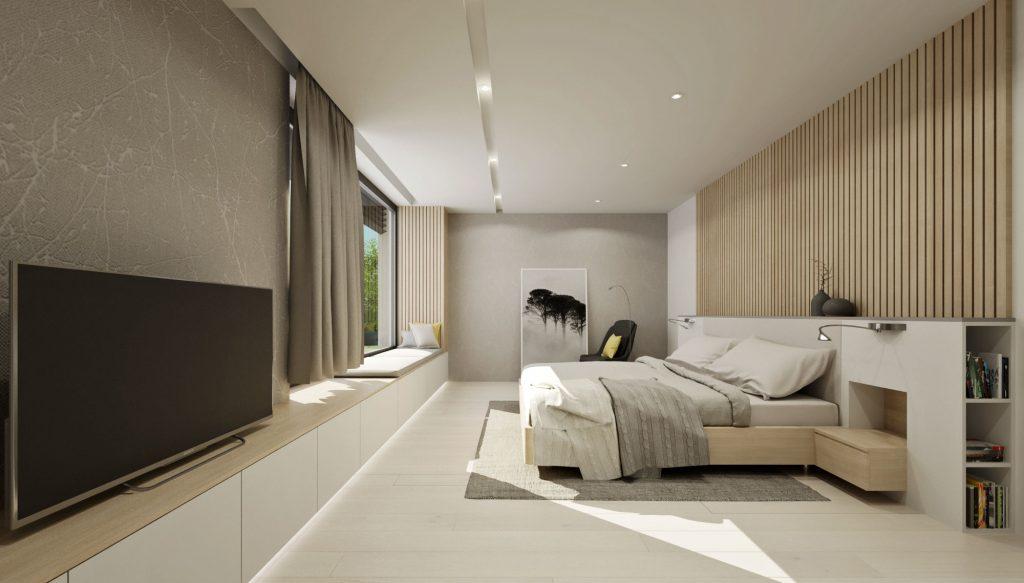 Spálňa pre dokonalý odpočinok