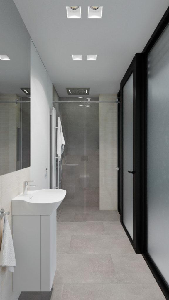 Svetlá kúpelňa