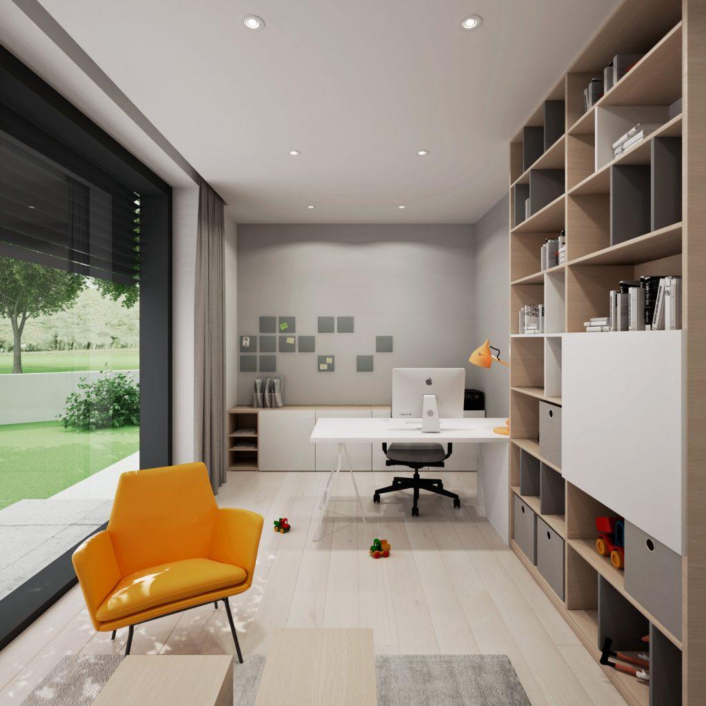 Domáca pracovňa- interiér