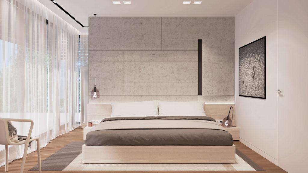 Spálňa- neutrálna a svetlá