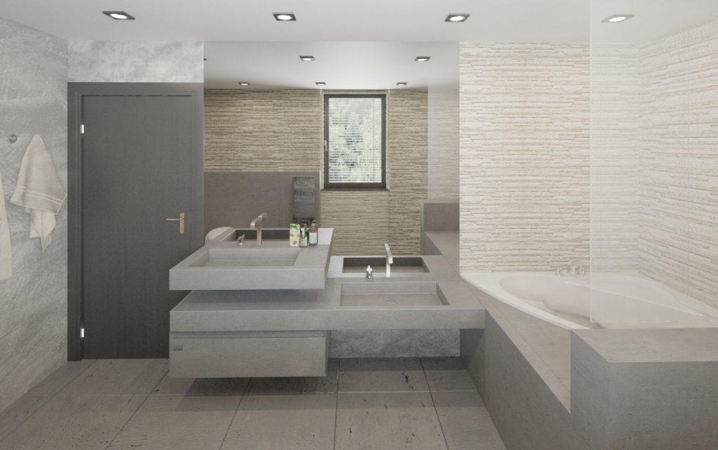 Moderná kúpeľňa s kvalitnými materiálmi
