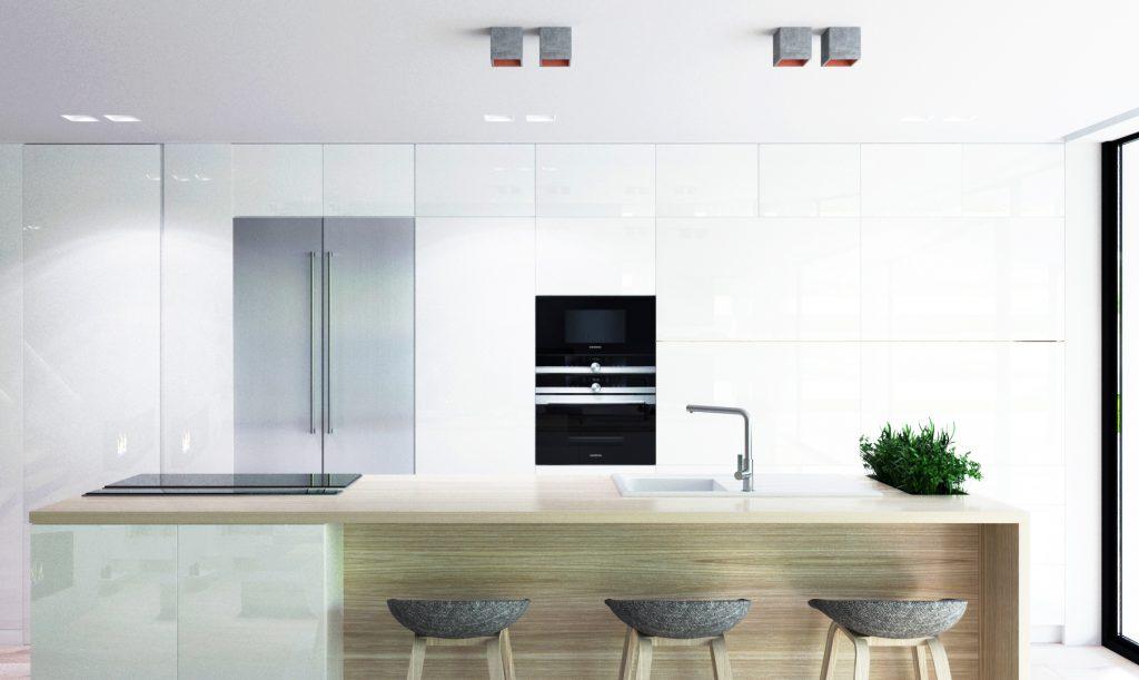 Miesto na bylinky v modernej kuchyni