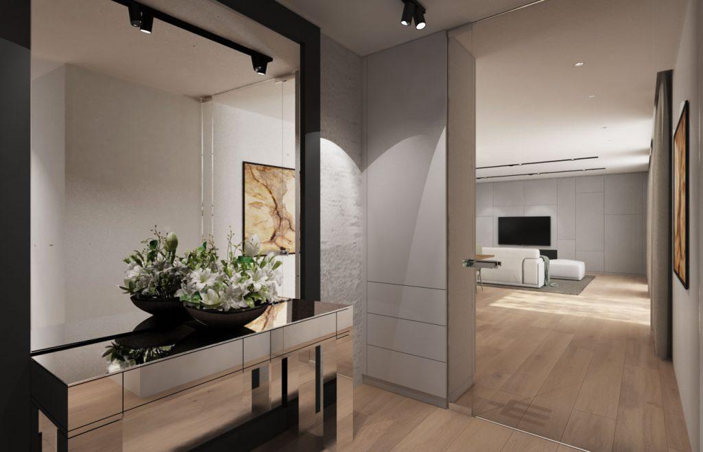 Moderný vstup do domu
