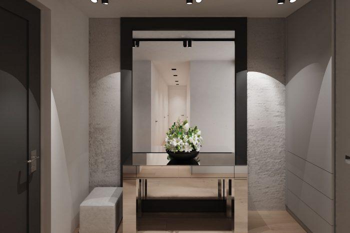 Moderný elegantný vstupný priestor