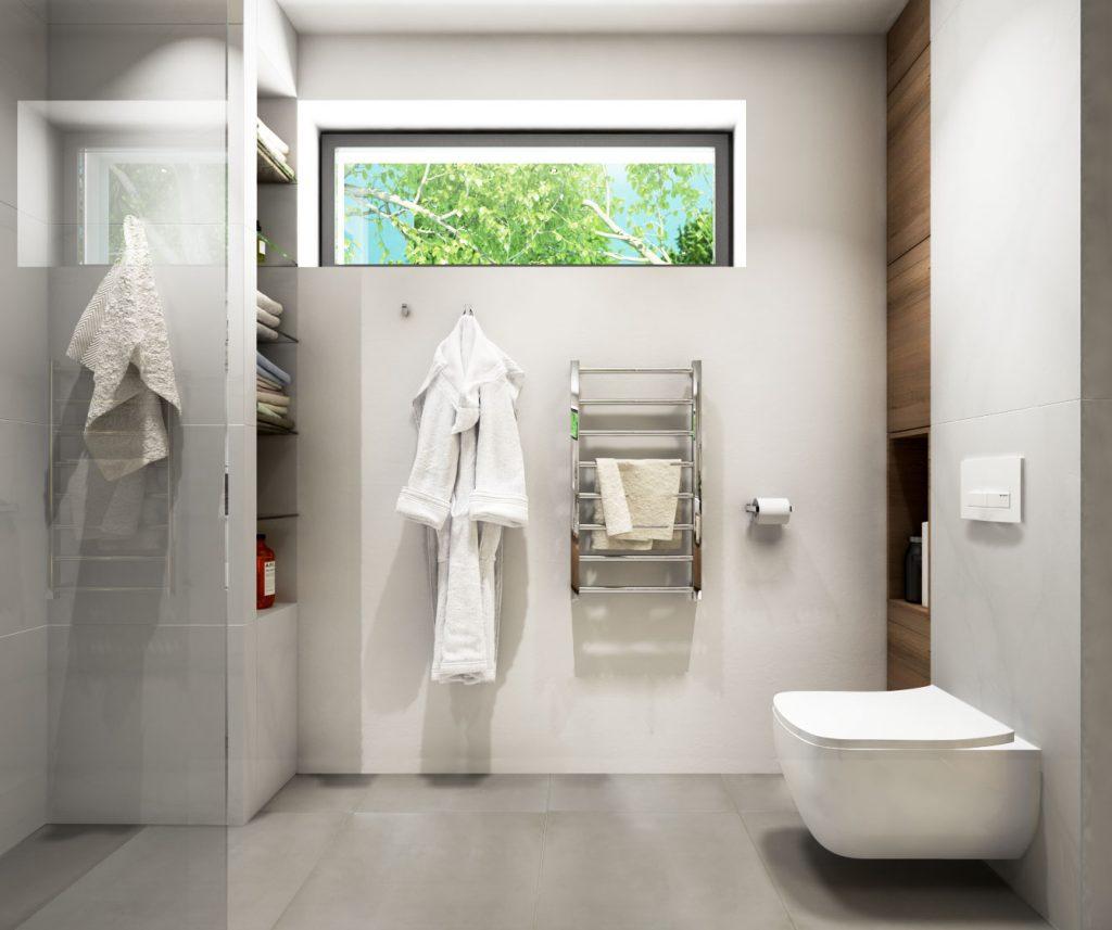 Sofistikované úložné priestory v modernej kúpelni