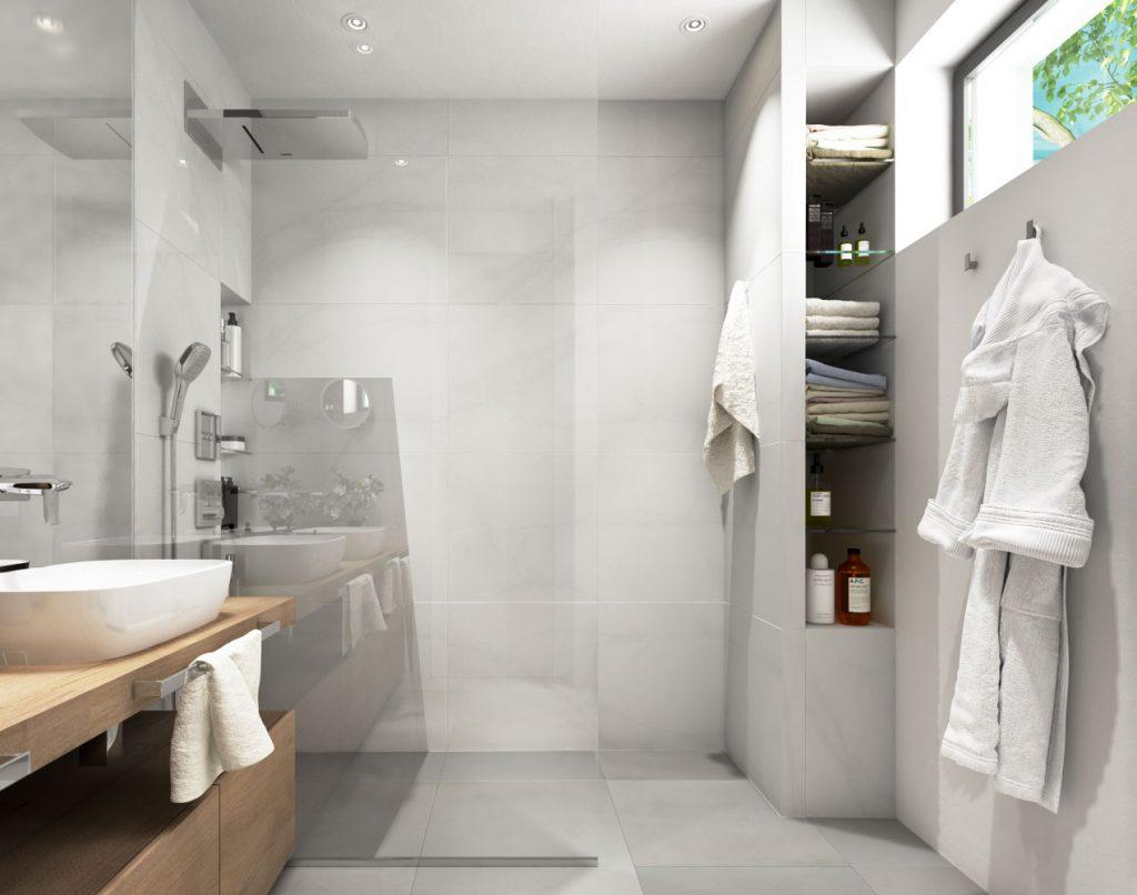 Moderná kúpelňa pre pánov domu