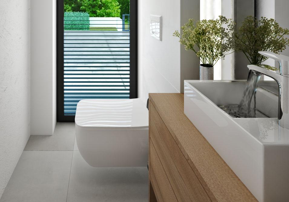 Moderné WC- detail