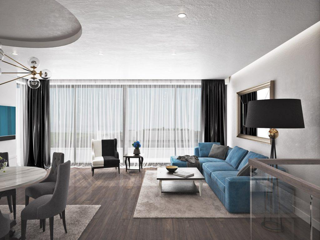 Spojenie klasických a moderných prvkov v interiéri
